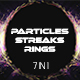 Particles Streaks Rings