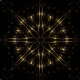 Gold Kaleidoscope Backgrounds Loop 2 - VideoHive Item for Sale