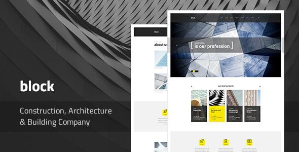 Block — Construction, Architecture, Building Company WordPress Theme