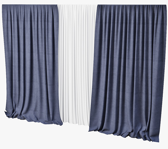 curtain - 3DOcean Item for Sale