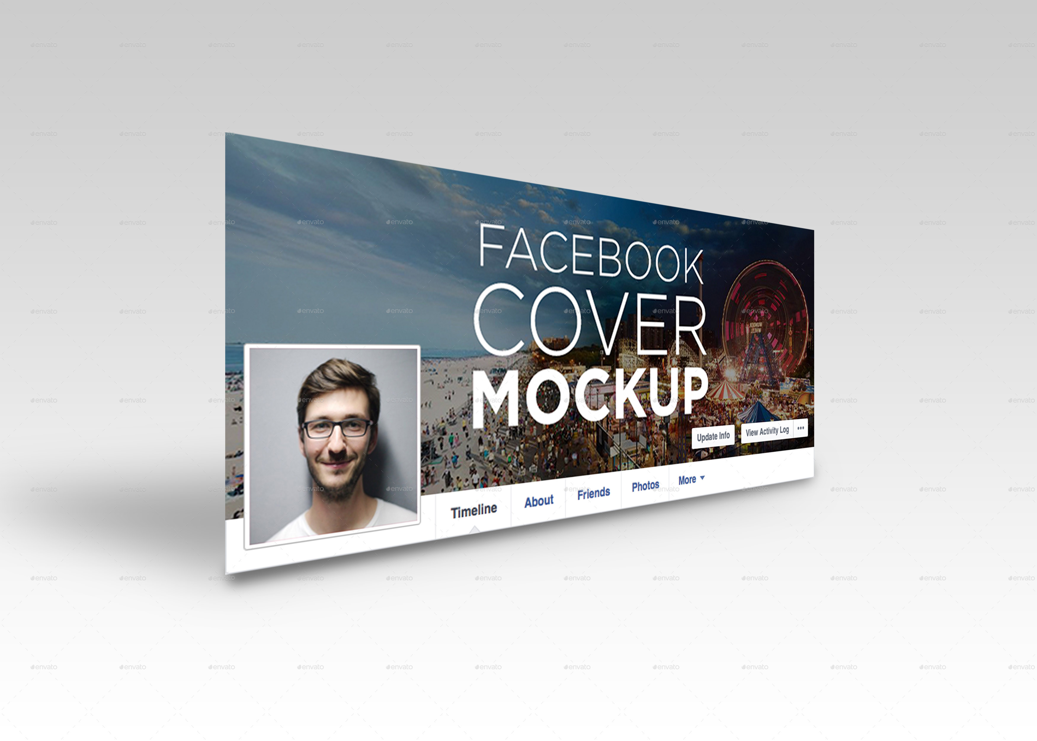 facebook mockup - Monza berglauf-verband com