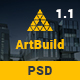 ARTBUILD | Construction & Building PSD - ThemeForest Item for Sale