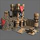 Castle game - 3DOcean Item for Sale