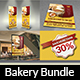 Bakery Advertising Bundle Vol.2 - GraphicRiver Item for Sale