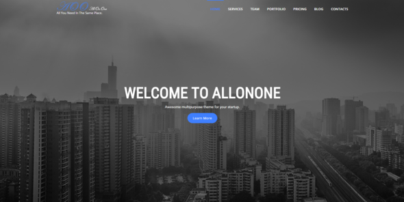 All On One | Multi-purpose Business Html5 Template