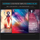 Electro Music Flyer Bundle Vol. 38