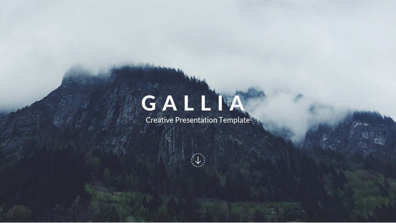Gallia creative powerpoint template by bypaintdesign graphicriver preview image setslide1 toneelgroepblik Gallery