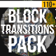 Block Transitions Pack | 110 + - VideoHive Item for Sale