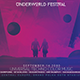 We Are Inlove Underworld Festival Flyer Template