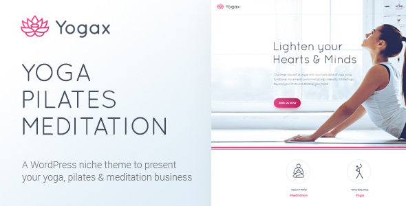 Yoga X – Yoga, Pilates & Meditation WordPress Theme