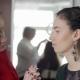 Makeup Artist Makes Models Eye Makeup - VideoHive Item for Sale