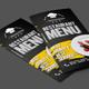DL Bifold Restaurant Menu - GraphicRiver Item for Sale