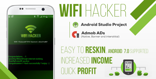 WIFI Hacker Prank + AdMob - CodeCanyon Item for Sale