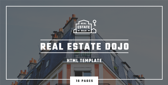 Real Estate Dojo – HTML/CSS real estate agency website template