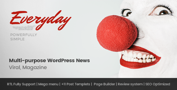 Everyday – Modish News, Magazine and Blog Theme