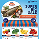 Supermarket / Product Promotion Flyer - GraphicRiver Item for Sale