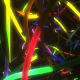 Colorful LED Diode Lights Movement Along Path - VideoHive Item for Sale