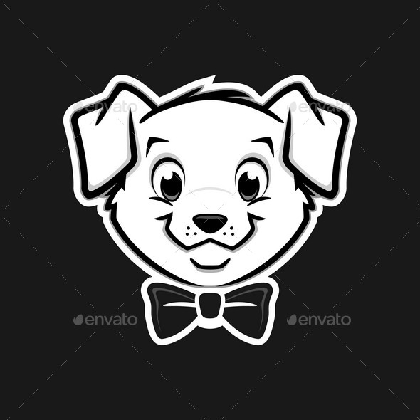 Puppy Dog Icon - Animals Characters