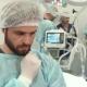 Surgeon Touches His Beard