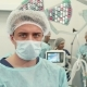 Surgeon Poses at the Surgery Room