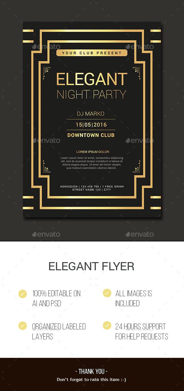 Elegant Flyer - Events Flyers