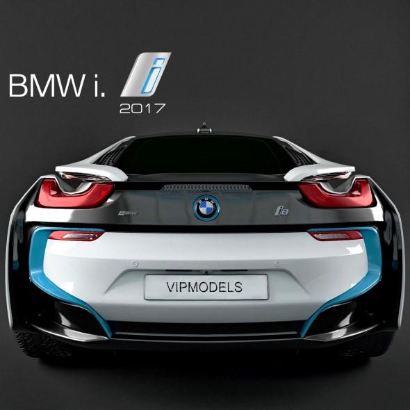 BMW i8 2017 3D model - 3DOcean Item for Sale