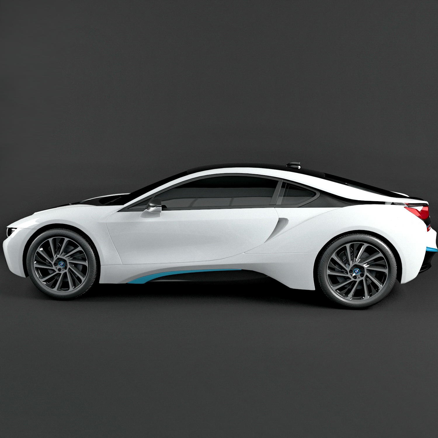BMW I8 2017 3D Model By Super3d