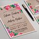 Rustic Wedding Invitation Set - GraphicRiver Item for Sale
