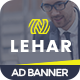 Lehar | Business HTML 5 Animated Google Banner