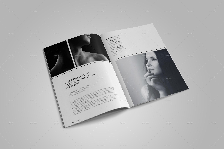 a4 photo portfolio template by bookrak graphicriver. Black Bedroom Furniture Sets. Home Design Ideas