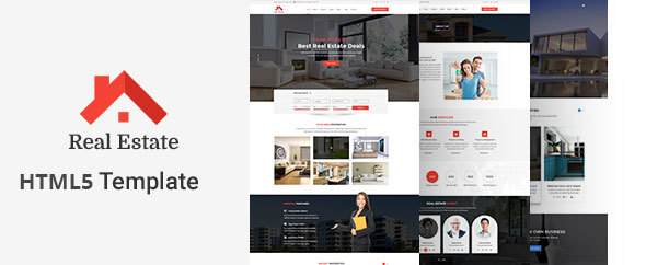 Real Estate HTML5 Template - Business Corporate
