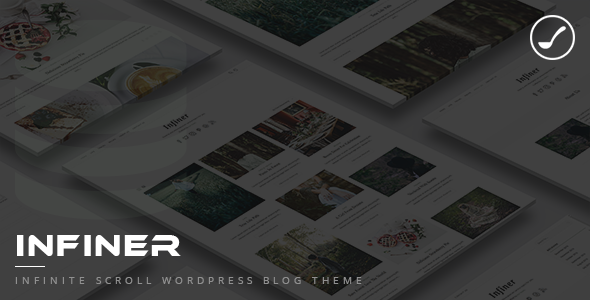Infiner – Infinite Scroll WordPress Blog Theme