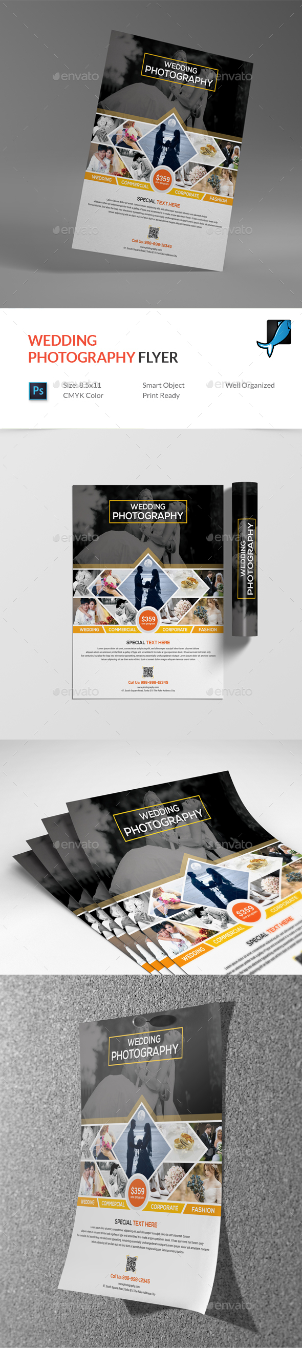 Wedding Photography Flyer - Corporate Flyers