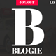 Blogie - Minimalist WordPress Blog theme - ThemeForest Item for Sale