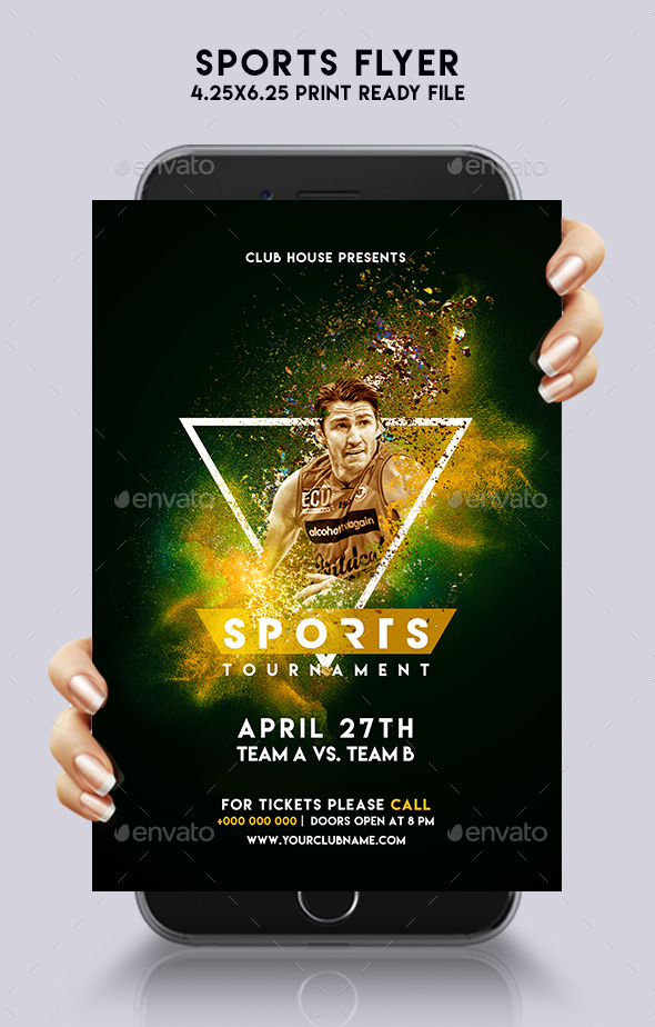 Sports Flyer - Sports Events