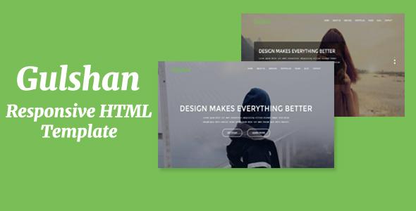 Gulshan – Responsive HTML Template