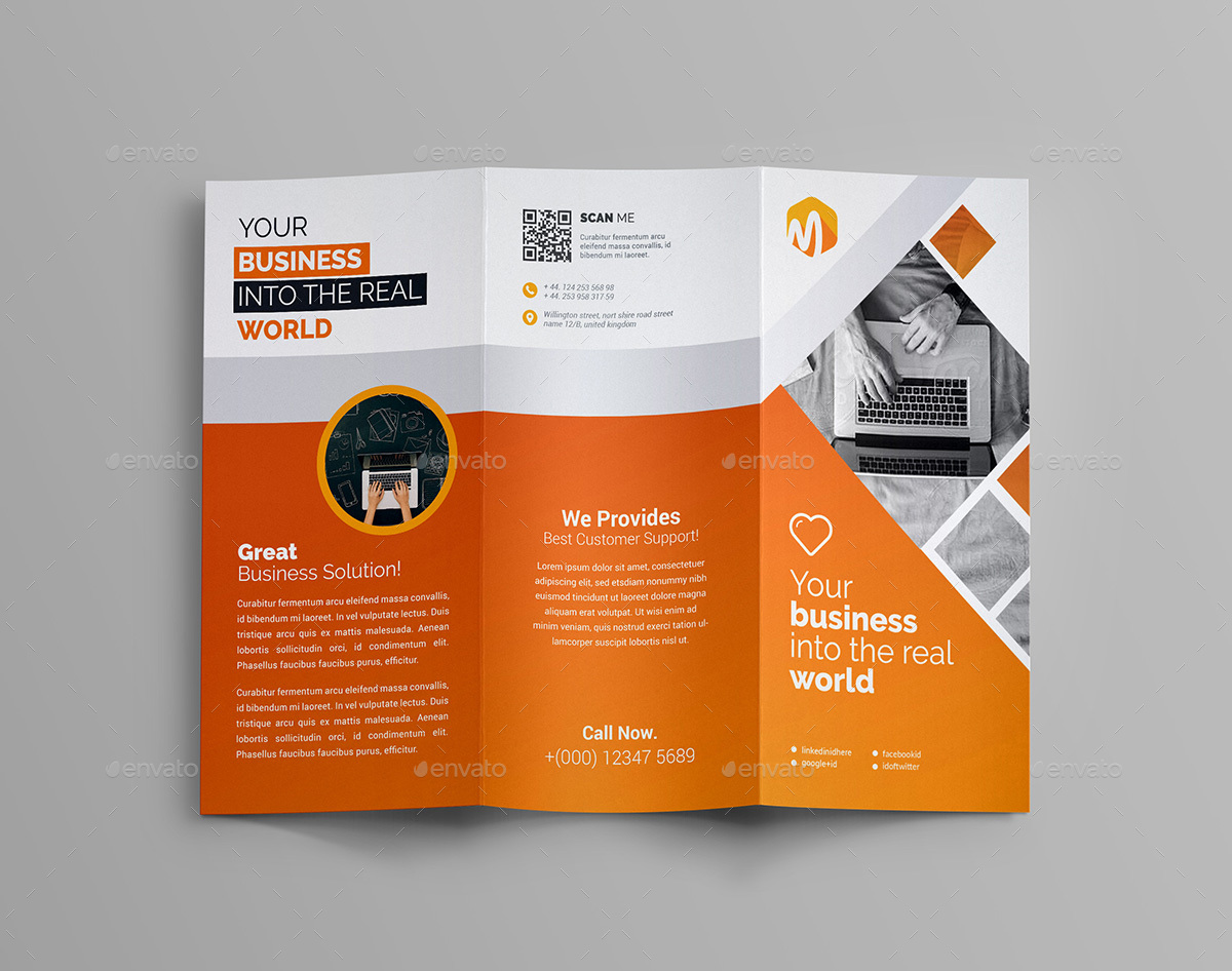 Trifold Brochure By Generousart Graphicriver