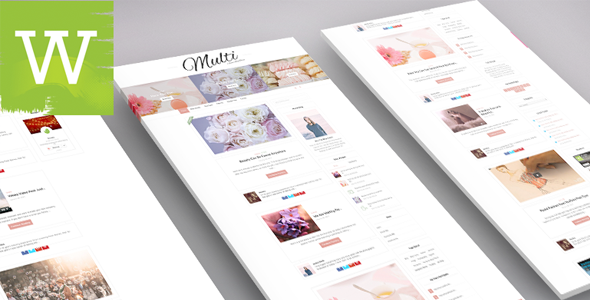 W309 | Multi-Author | Multi-Color | Clean And Minimal WordPress Blog Theme - Personal Blog / Magazine