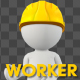Worker Character Talking Pack - 3 Scene - VideoHive Item for Sale
