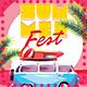 Summer Fest Flyer - GraphicRiver Item for Sale