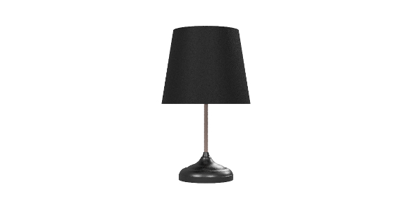 Elegant Desk Lamp - 3DOcean Item for Sale