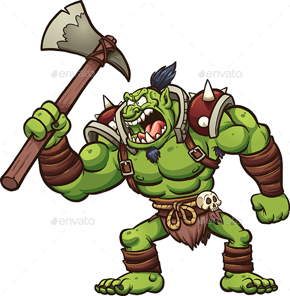 Chief Troll - Monsters Characters