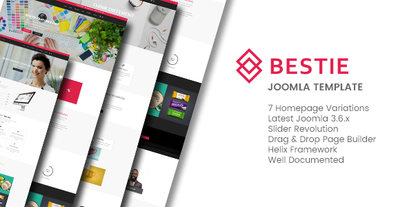 Bestie - Multipurpose Joomla Template