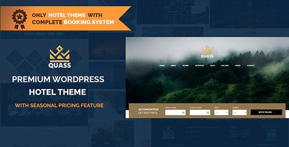 Quass Premium Hotel Theme – Complete Booking Engine
