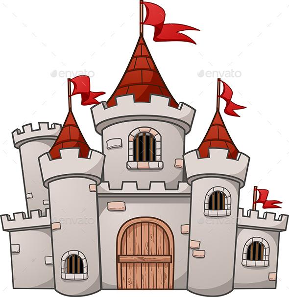 Cartoon Castle - Buildings Objects