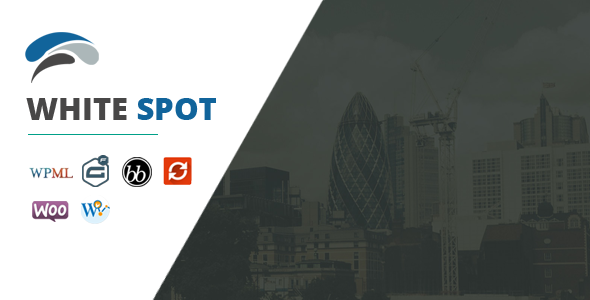 Image of WhiteSpot – Clean Business WordPress Theme