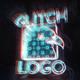 Glitch Neon Logo 2
