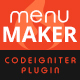 Menu Maker - Codeigniter Plugin - CodeCanyon Item for Sale