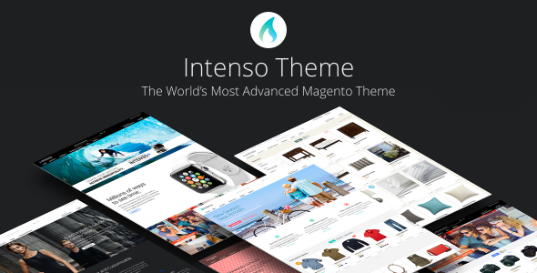 Intenso - Advanced Magento Theme