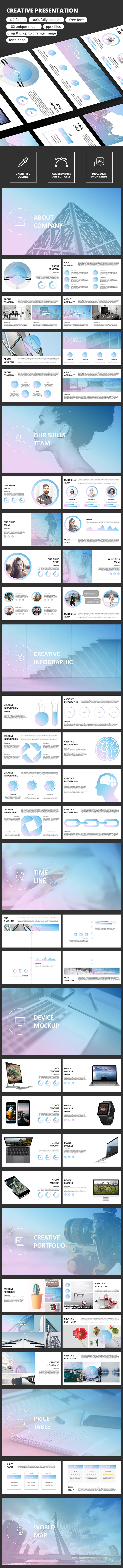 Creative Presentation Template - Business PowerPoint Templates